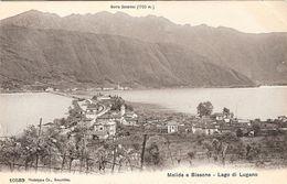 SUISSE,MELIDE E BISSONE,LAGO DI LUGANO - Suisse
