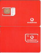 GREECE - 3G, Vodafone GSM(white Logo), Chip V2, Mint - Greece
