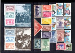 Set Of Stamps_Colon_Colombus_Colomb_ship_Espagne_Spain - Christophe Colomb