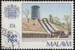 MALAWI - Scott #535 The 300th Anniversary Of Lloyd's Of London / Used Stamp - Malawi (1964-...)