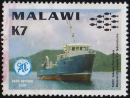 MALAWI - Scott #697 R/V Ndunduma (*) / Used Stamp - Malawi (1964-...)