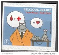 Belgique 2008 COB 3748 Neuf ** Cote (2016) 1.50 Euro Croix Rouge Don De Sang - Belgique