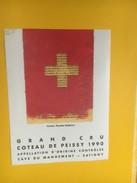 5118 - Côteau De Peissy Genève 1990 Artiste Daniele Robbiani 700e Anniversaire De La Confédération - Art