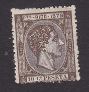 Puerto Rico, Scott #24, Mint Hinged, King Alfonso XII, Issued 1879 - Puerto Rico