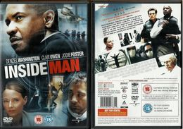 # DVD Spike Lee - Inside Man ( Ligua Inglese) - Policiers