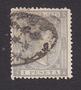 Puerto Rico, Scott #28, Used, King Alfonso XII, Issued 1879 - Puerto Rico