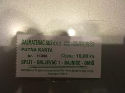 Transit Ticket Split Bus/Tram/Subway/Metro - Europe