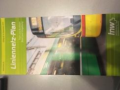 Transit Map Basel / Bâle - Subway Bus Tram - World