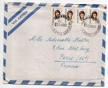 Argentine--1972--Lettre De BUENOS-AIRES Pour PARIS (France)--timbres Sur Lettre--cachet - Argentine