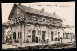 AK/CP Evaux Les Bains    La Gare      Ungel/uncirc. Ca.1920  Erhaltung/Cond. 1-  Nr. 00028 - Evaux Les Bains