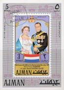 Prince Bernhardt/ Königin Julianet NL 1971 Adschman Block 316 O 6€ Niederlande Royal Bloc S/s Queen Sheet M/s Bf VA - Königshäuser, Adel