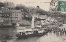 Dinard - La Cale Du Bac  - Scan Recto-verso - Dinard