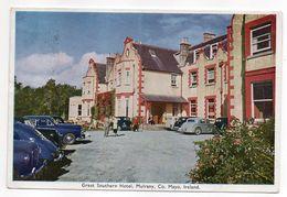 Irlande-- MAYO--MULRANY---1957--Great Southern Hotel (animée,belles Voitures ) - Mayo