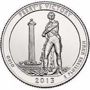 USA EEUU 25 CENTS. QUARTER DOLLAR PERRYS VICTORY (OHIO) 2013  D O P  A ELEGIR  UNC - PAS CIRCULÉE  - SC - EDICIONES FEDERALES