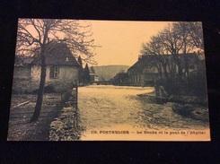 Pontarlier Le Doubs Et Le Pont De L Hôpital - Pontarlier