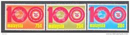 Malaysia  120-22   *   UPU - Malaysia (1964-...)