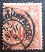 LOT R1595/48 - SAGE Type I N° 70 - CàD DES IMPRIMES PARIS 8 JUIN 1879 - Cote : 35,00 € - 1876-1878 Sage (Type I)