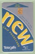 New Zealand - Chipcards - 1999 Trial Issue - $5 - VFU - Card 001 - Nuova Zelanda