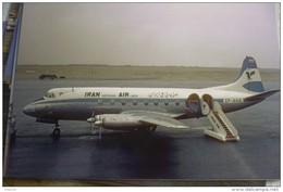 IRAN AIRLINES        VICKERS VISCOUNT  EP AHA     AIRPORT  THR 1964       Collection Vilain - 1946-....: Era Moderna