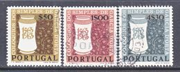 PORTUGAL 922-4    (o)   MEDICINE  DRUGS - Medicine