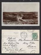 S.Africa, View Of Mine From Southern Rim, Used 1913  PREMIER MINE TRANSVAAL > BULWER NATAL - South Africa
