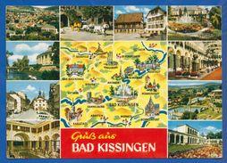 Deutschland; Bad Kissingen; Multibildkarte - Bad Kissingen