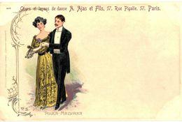 CPA N°8380 - COURS ET LECONS DE DANSE - A. AJAS ET FILS - 57 RUE PIGALLE - PARIS - POLKA - MAZURKA - Andere