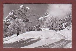 Glarus - BRAUNWALD - Am Höhenweg Gegen Ortstock Und Hoher Turm - GL Glaris