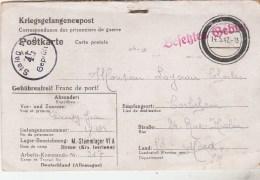 CARTE FM PRISONNIER DE GUERRE FRANCAIS STALAG VI A CAMP DE  HEMER 15/5/42 -TDA185A - Militaria