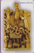 Télécarte Lituanie °° Nc- Skulpturos - Uzkurys - 1974 M-2000 – 1750 - Lituanie