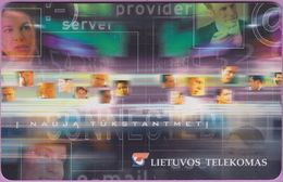 Télécarte Lituanie °° Nc- Nauja Tukstantmeti -  8130 - Lituanie