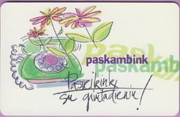 Télécarte Lituanie °° 54-Paskambink – 1293 - Lituanie