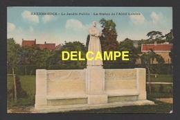 DF / 59 NORD / HAZEBROUCK / LE JARDIN PUBLIC - LA STATUE DE L' ABBÉ LEMIRE - Hazebrouck