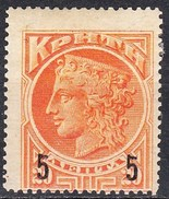 CRETE 1901 20 L Orange Vl. 24 MH - Kreta