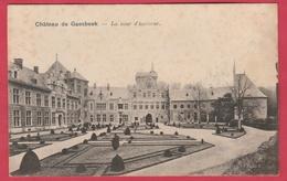 Gaasbeek - Château ... La Cour D'honneur ( Verso Zien ) - Lennik