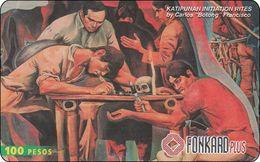Phillipinen Phonecard Art Kunst Picture - Philippines