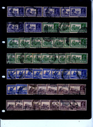 INDIA  ALL USED STAMPS On STOCKCARD - Inde (...-1947)