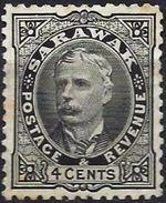 Malaysia (Sarawak) 1895 - Sir Charles Johnson Brooke ( Mi 23 - YT 32 ) MNG - Groot-Brittannië (oude Kolonies En Protectoraten)