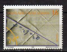 Macedonia  1998 The 2500th Anniversary Of The Death Of Pythagoras.sciences. MNH - Macedonia