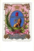 Paraguay, Wappen-AK, Verlag Paul Kohl Chemnitz, Um 1900/05 - Paraguay
