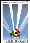 MUSEO DEL CALCIO SUL RETRO ANNULLO SPECIALE GIORNO DELL´INNAGURAZIONE FIRENZE 2000 - Calcio