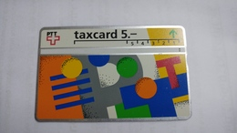 Switzerland-(v-17a)-PTT Post-(207e)-45.000-used Card+1card Prepiad Free - Suisse