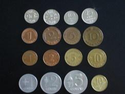 Lot Pièces Lettonie Lituanie Suède Allemagne - Monnaies
