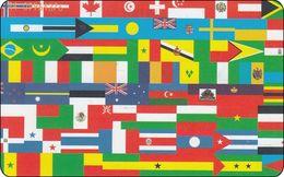 Niederlande Phonecard  Flaggen Heraldik From The World Butterfly - öffentlich