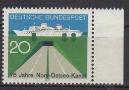 BRD /  75 Jahre Nord-Ostsee-Kanal / MiNr. 628 - Ungebraucht