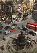 CARTOLINA-LONDON-PICCADILLY CIRCUS-1966 - Piccadilly Circus