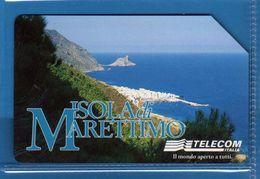 (1UD) USATE ° - ISOLA Di MARETTIMO - C&C. F.3050.   -  Vedi Descrizione - Italy