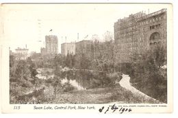 Swan Lake, Central Park, New York - Central Park