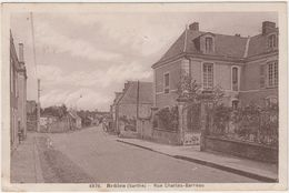 Brûlon. Rue Charles-Barreau - Brulon