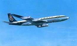 AVIONS / AEROPORT   /  L 25   /   BOEING 707      OLYMPIC          CPM / CPSM  9 X 14 - 1946-....: Moderne